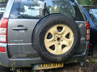Suzuki Grand Vitara spare wheel