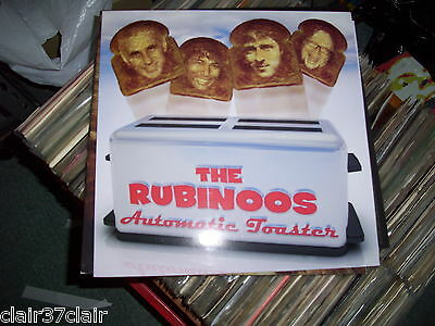 THE RUBINOOS automatic toaster lp new and in stock powerpop