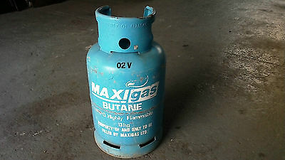 Empty 13Kg Maxigas Butane gas bottle cylinder (exchange for Flogas)