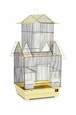 Prevue Pet Products Beijing Bird Cage, Yellow and Black