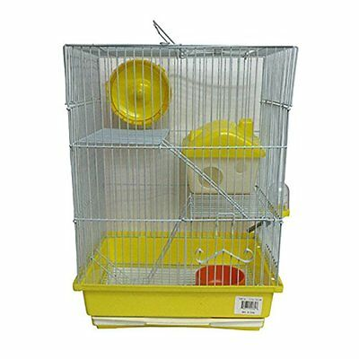 Iconic Pet Mouse Cage, Small, Yellow