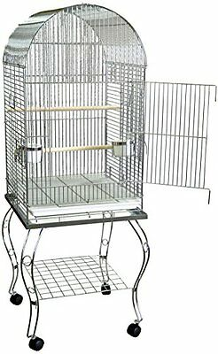 YML Parrot Cage, 2-Pound, Chrome