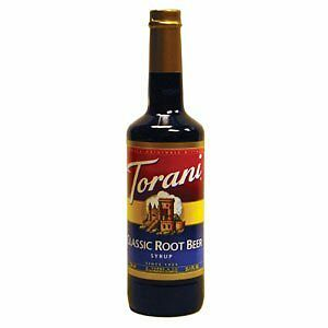 Torani Classic Root Beer Syrup, 750 ml
