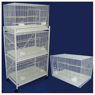 YML Breeding Cage, White