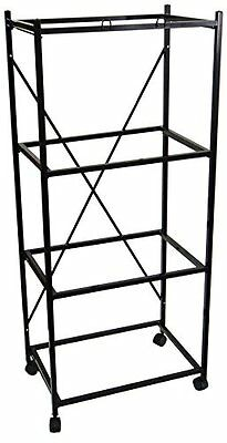 YML 4-Shelves Stand for Pet Cages, Black
