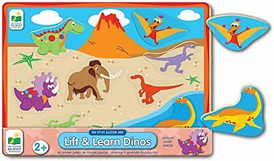 The Learning Journey My First Lift & Learn Dino Puzzle, Multi