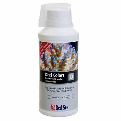 Red Sea Fish Pharm ARE22053 Reef Colors Potassium Supplement-B for Aquarium