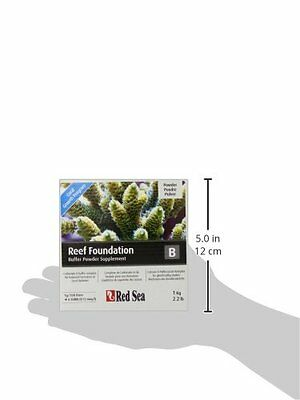 Red Sea Fish Pharm ARE22027 Reef Foundation Buffer Supplement-B for Aquariu