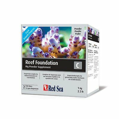 Red Sea Fish Pharm ARE22037 Reef Foundation Magnesium Supplement-C for Aqua