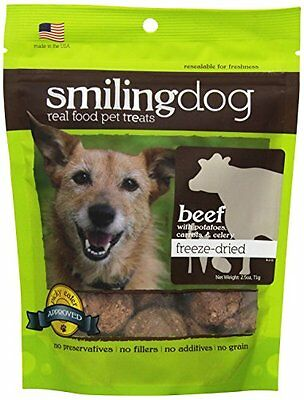 Herbsmith Smiling Dog Freeze Dried Beef with Potato, Carrot and Celery Trea