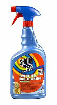 Shout Pets Turbo-Oxy Time-Release Odor Eliminator - Spring Breeze - 32 oz