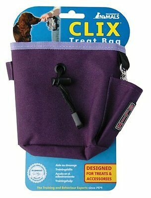 The Company of Animals Clix Treat Bag, Purple