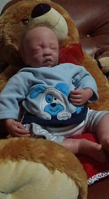 * Reborn Baby Boy One Of A Kind Comes With Certificate