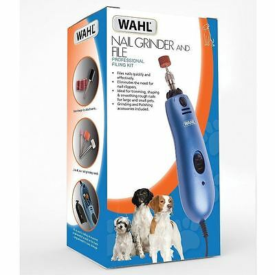 Wahl Pet Dog Claw Nail Grinder & File Grooming Kit Trimmer Grinding & Polishing