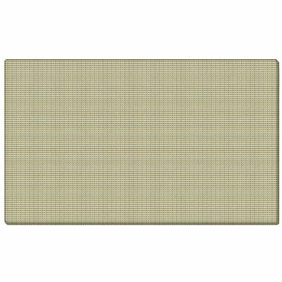 """Ghent 18""""x24"""" Fabric Tackboard w/ Wrapped Edge - Beige - Made in the USA"""