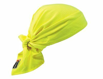 Chill-Its 6710FR Evaporative FR Cooling Triangle Hat, Lime
