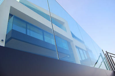 Frameless Glass Balustrade System (£90 per meter inc VAT)