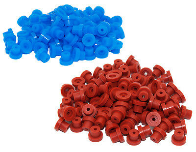 Tattoo Grommets - High Quality Durable Rubber Pack of 100 CUSHION YOUR NEEDLES
