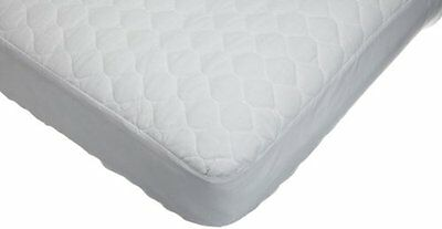 American Baby Company Waterproof Quilted Cotton Crib & Toddler Mattress Pad
