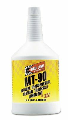 Red Line (50304) MT-90 75W-90 GL-4 Manual Transmission and Transaxle Lubric