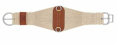 Weaver Leather Natural Blend 27 Strand Roper Smart Cinch with New and Impro