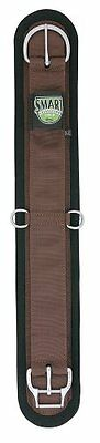 Weaver Leather Felt Lined Straight Smart Cinch with New and Improved Roll S