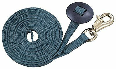 Tough 1 German Cord Cotton Lunge Line with Heavy Snap, Hunte