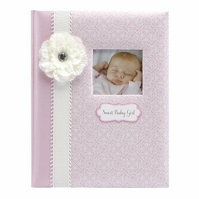 C.R. Gibson 5 Year Loose Leaf Baby Memory Book, Bella