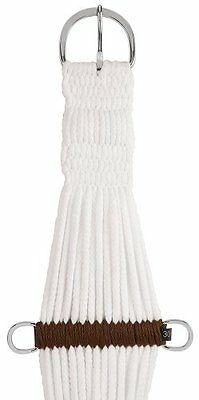 Weaver Leather Rayon 25 Strand Roper Cinch, 32-Inch, White