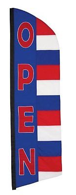 In the Breeze Open Patriot Feather Banner, 8.5-Feet