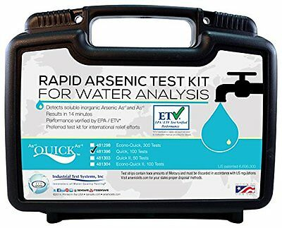 Industrial Test Systems Quick 481396 Arsenic for Water Quality Testing, 100