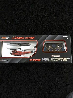 Pheoni 3.5 Channel I/R Flight Remote Control Helicopter Brand New