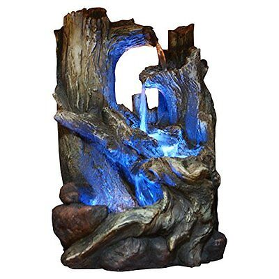 Alpine WIN786S Tree Trunks Fountain with LED Light
