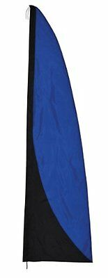 In the Breeze Banner, Blue and Black, 8.5-Feet