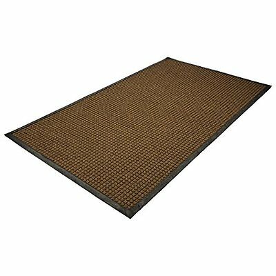 Guardian WaterGuard Indoor/Outdoor Wiper Scraper Floor Mat, Rubber/Nylon, 3
