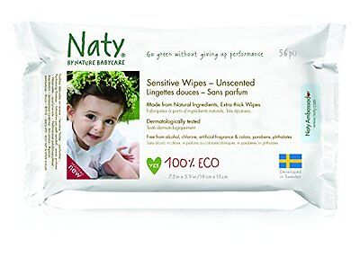 Nature Babycare Eco-Sensitive Wipes, Fragrance-Free, 672 Count