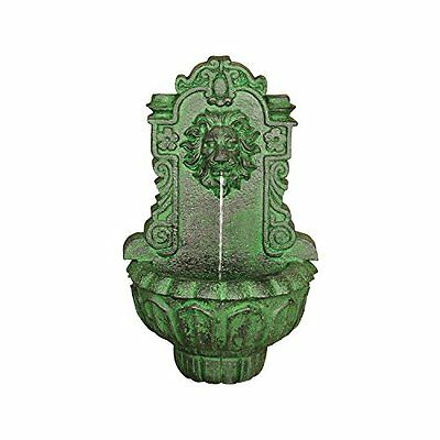 Design Toscano Casa Del Lago Lion Head Wall Niche Sculptural Fountain