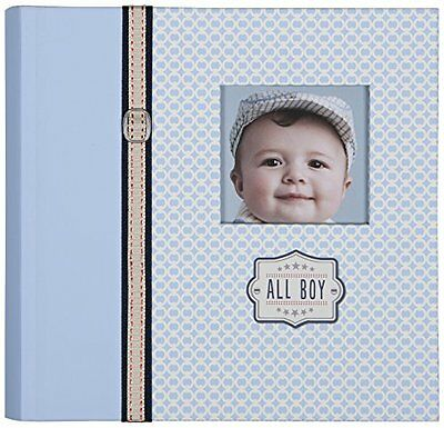 C.R. Gibson Slim Bound Photo Journal Album, All Boy