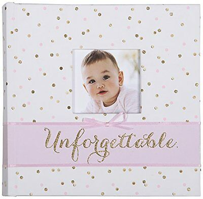 Carter's Slim Bound Photo Journal Album, Sweet Sparkle