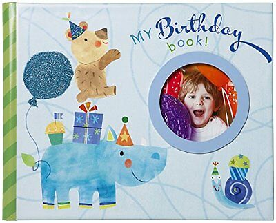 C.R. Gibson Gibby and Libby Keepsake Photo Book, Birthday Bo