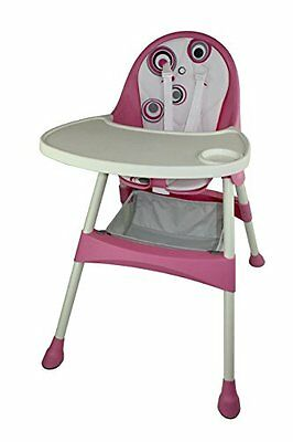 Baby Diego 2-in-1 High Chair, Pink