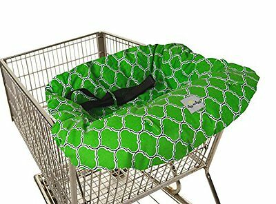 Itzy Ritzy Sitzy Shopping Cart and High Chair Cover, Emerald