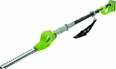 Earthwise 17-Inch 20-Volt Lithium Ion Cordless Pole Hedge Tr