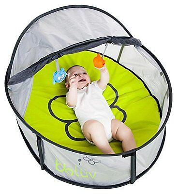 BBLuv Nido 2 in 1 Travel Bed and Play Tent, Mini