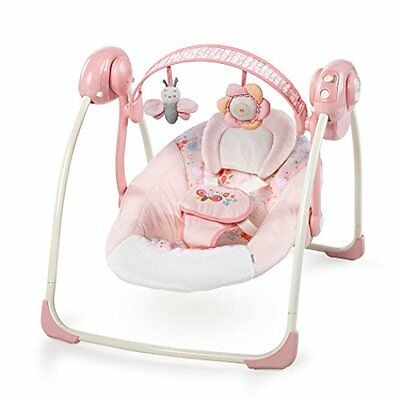 Ingenuity Soothe 'N Delight Portable Swing, Felicity Floral