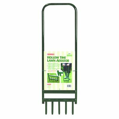 Bosmere N460 Hollow Tine Lawn Aerator with 5 Tines, 35 by 11-Inch
