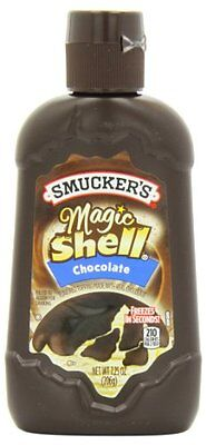 Smucker's Magic Shell Ice Cream Topping, Chocolate Flavor, 7.25-Ounce Bottl
