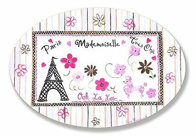 The Kids Room by Stupell Paris Madamoiselle Tres Chic with E
