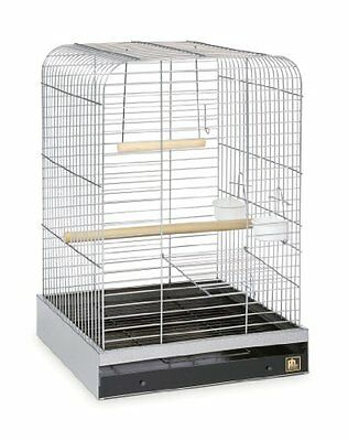 Prevue Pet Products 125C Parrot Cage, Chrome