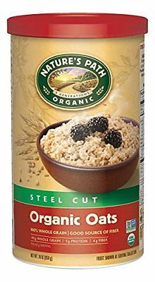 Country Choice Organic Oven Toasted Steel Cut Oats, 30-Ounce Canisters (Pac